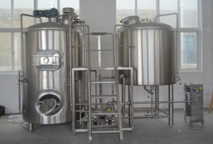 20 HL 2 vessel combi Brewhouse
