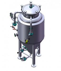 Yeast tank