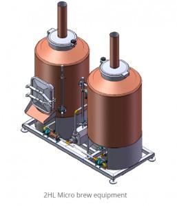 2HL Micro brew equipment